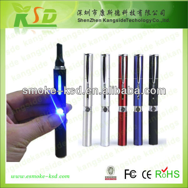 Sigaretta electronica ego w colored ego w smoke cigarette with pen style hot selling in Europe