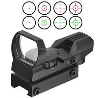 Electro-dot red/green dot laser sight rifle reflex scopes