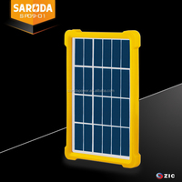 China manufacturer mini 1w 6v small solar panel with polycrystalline silicon solar cell