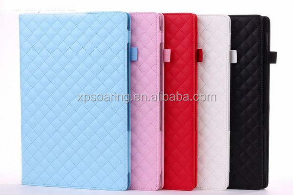 Book style flip leather case pouch for Sony Tablet Xperia Z2 10.1