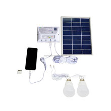 portable mini solar home lighting system with mobile charger Item YH1002H