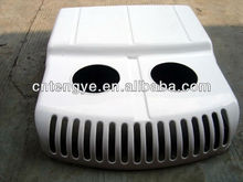 vacuum forming durable extractor fan box/ plastic factory row heat exchanger cover