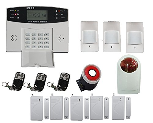 Factory Price professional burglar alarm system home <strong>security</strong> with 99 wireless zones 8 wired zones