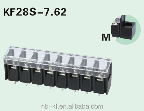 parallel Barrier terminal block connector pitch7.62mm