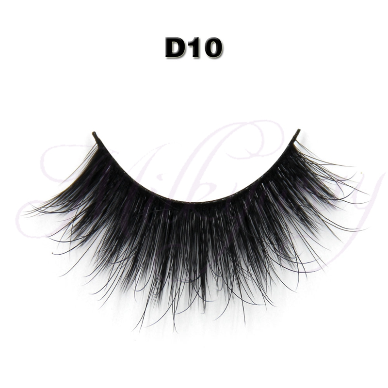 Popular styles 3d synthetic eyelashes/private label false eyelashes