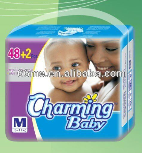 Charming Baby A Grade Hot Sale Baby Diapers