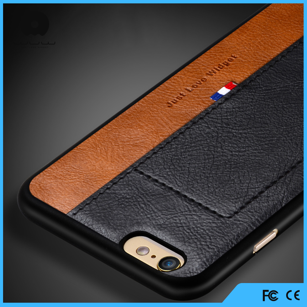 Fashion Luxury Hard Back Flip Leather Case for iPhone 4,5 6,for Samsung 4,5 Leather Case Wholesale