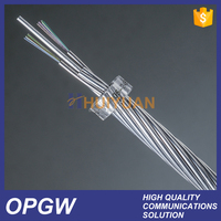 OPGW optical cable, Optical Fiber Composite Overhead Ground Wire OPGW
