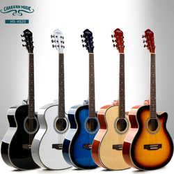 China factory wholesale musical instruments cheap colorful electric guitar acoustic