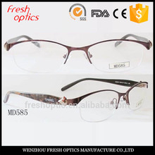 Hot sales Stainless Steel glass frames(CE and FDA approved)