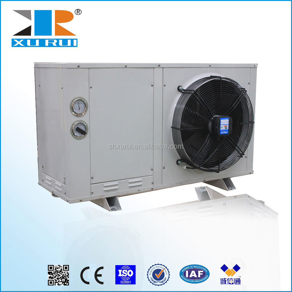 XJW box type bitzer scroll condensing units with electric control inside
