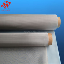 fine plain woven stainless steel wire mesh cloth/mesh screen roll