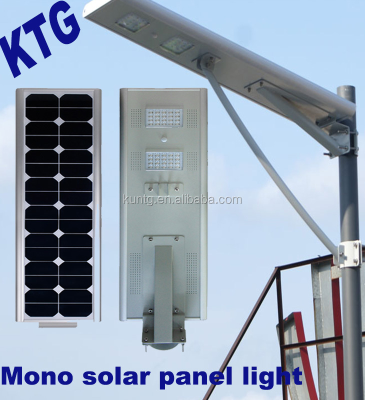 KTG Hot Selling 30w 40wp 50w 60w 70w 80w 90w high power outdoor ip65 solar street led light