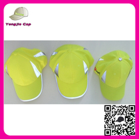 High Quality Reflective Custom Adult Safety Cap reflective baseball hat