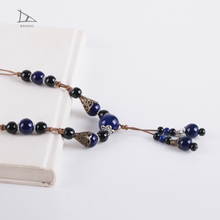 High quality promotion Cheap Personalized hand woven necklace