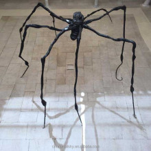 Huge Bronze Spider Sculpture Large Insect Metal Garden Statue Decor