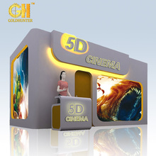 Gold Hunter Large Scale Amusement Center Equipment Hot Sale 5D Cinema 5D Theater