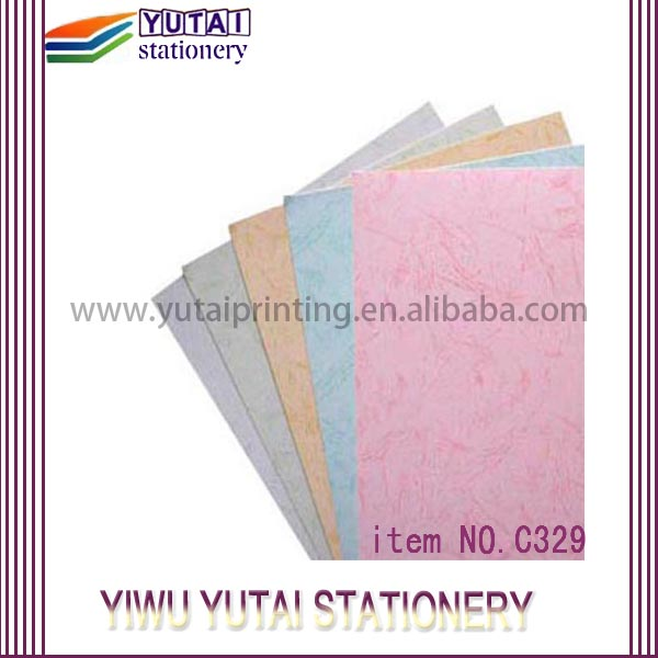 Wholesale custom embossed border paper