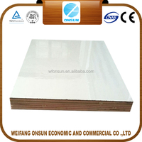 hot sale white wood melamine plywood price