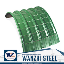 Henan steel lightweight roofing materials, steel plate roofing materials for poultry houses