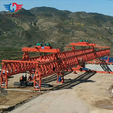 Bridge girder launcher gantry crane 140 ton for sale