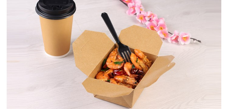 food grade paper box,paper food box, hot food delivery box
