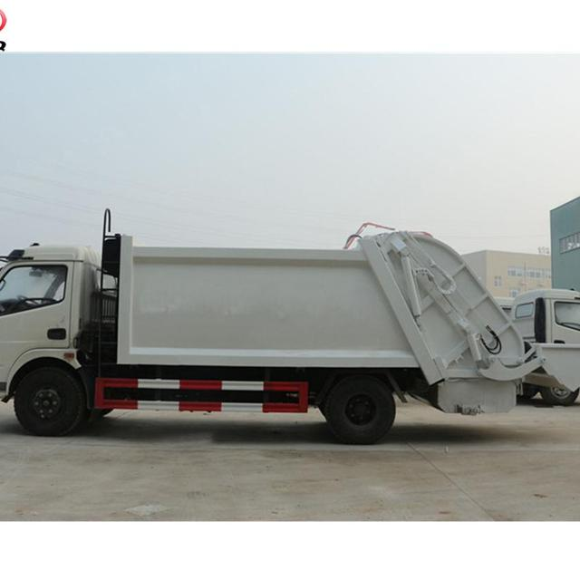Chinese famous brand 6000L compression garbage truck ,6ton dustcart, waste collection truck for sale
