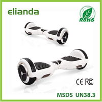 High Quality self balancing 2 wheels electric scooter with 300 watts motor 6.5Inch