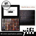 Pro new TZ palette 88colors warm eyeshadow makeup with mirror cosmetics wholesale