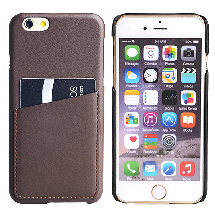 Leather Case Slim Protective with Credit Card Id Holders And Carrying Wallet Case For Iphone 6