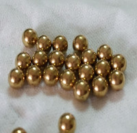 wholesales high quality H62 H65 99% different size brass ball