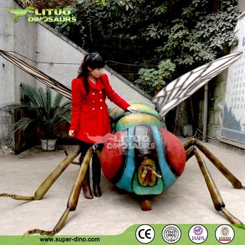 Lifelike Animatronic Big Insect for Sale