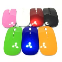 Wireless Mouse Factory 2.4G Mini Slim Wireless Mouse