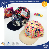 Alibaba custom cheap african print 5 panel hats