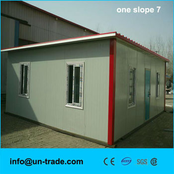 Flat roof prefabricated villa