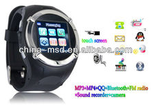 2013 new stylish GSM competitive price watch phone/phone watch with multi-function