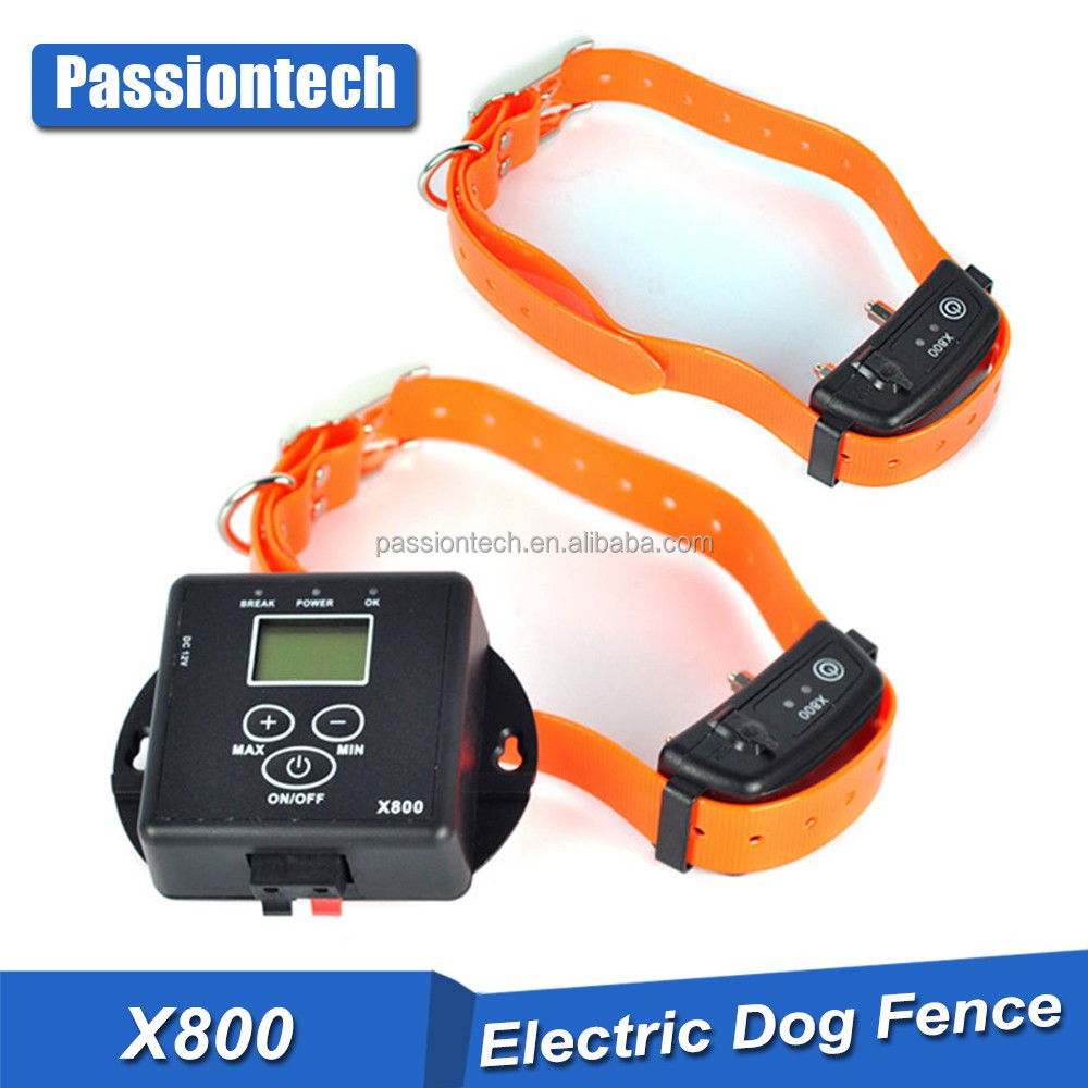 Spain Hot Underground Electric Dog Fence 2 Wireless Shock Collar Waterproof Hidden System