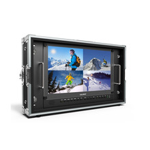 "Lilliput 15.6"" 6G-SDI 4K Monitor with 6G-SDI, HDMI, VGA & DVI inputs"