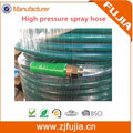USA standard Flexible PVC air hose high pressure paint spray hose with brass fittings