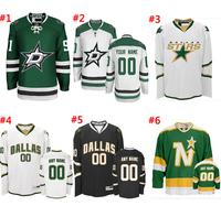 Free Shipping Stitched Authentic Jerseys #91 Tyler Seguin Jersey Home Dallas Stars Hockey Jerseys