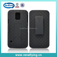 belt clip holder case for samsung galaxy s5 ,mobile phone case manufacturer