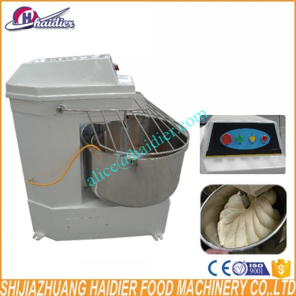 China high quality 220V electric industrial 100kg large food mixers spiral mixer