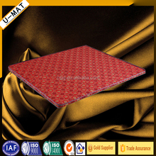 Portable thin bed mattress with coconut coir sheets for health