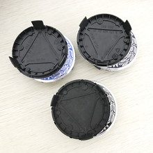 75mm Black Dark Blue Light Blue Wheel Center Caps Cover Hub Sticker For Mercedes C180 C200 C280 E200 E300 ML350 W230