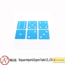"Best Quality Fantastic Rectangle Felt Cup Coaster with""1,2,3,4,5,6"" Holes Made in China"