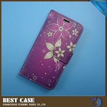 new design leather flip case for samsung galaxy mini s5570 back cover