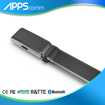 New GPS high quality Men's leather auto smart belt AGPS/LBS positioning