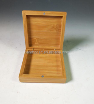 bamboo gift box engraved