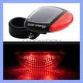 2 LEDs Solar Energy Bicycle Bike Tail Light