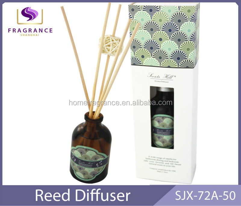 wooden ball reed diffuser aroma oil air freshener